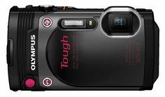 Olympus Tough Waterproof Black Digital Camera with AF Lock and LCD Top Gadgets, Cool Tech Gadgets, Latest Gadgets, Stylus, Top Digital Cameras, Cleaning Kit, Best Camera, Fujifilm Instax Mini, Olympus