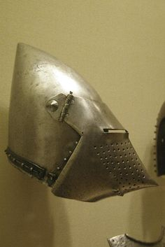 Visored bascinet  Western Europe, 1375-1400.
