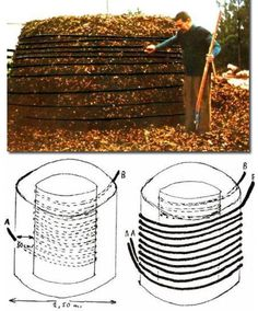 *click through to see about garden book* Fascinating ways to capture heat from a compost pile. Permaculture at its very best! Agriculture Bio, Jardin Decor, Bokashi, Fire Prevention, Garden Compost, Homestead Survival, Off The Grid, Alternative Energy, Sustainable Living