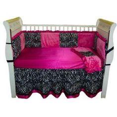 zebra print baby decor, wish it was in the orange we want. but still love!