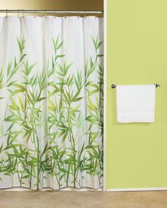 Go Green Starter Kit 16 Reusable Plastic Free Organic Products … Green Shower Curtains, Master Bath Remodel, Cleaning Materials, Green Fabric, Go Green, Bamboo, New Homes, Flooring, Pure Products