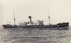 Caledonian Monarch (British Steam merchant) - Convoy SC 53: The cargo ship was torpedoed and sunk in the Atlantic Ocean (approximately 57°N 26°W)