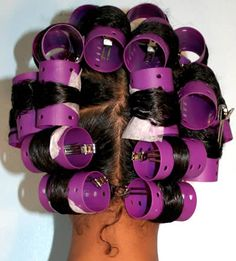 healthy styles: roller set how to