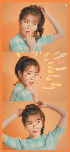 Iu Fashion, Korean Fashion, K Pop, Cute Lockscreens, Orange Wallpaper, Cute Korean Girl, I Luv U, Kdrama Actors, Drama Korea