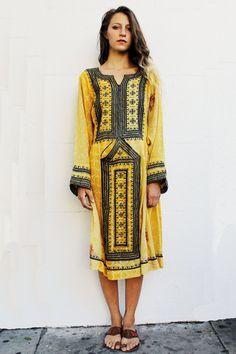 Floral Afghani Dress van TavinShop op Etsy