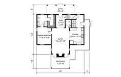 SL Garden Home Cottage -  Main Level Floor plan 2 more bedrooms upstairs