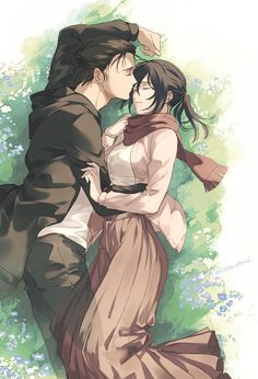 Mikasa X Eren, Armin, Attack On Titan Ships, Attack On Titan Fanart, Welcome To My Page, Field Of Dreams, Eremika, Games Images, Anime Art