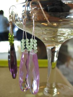 Free how-to for easy earrings