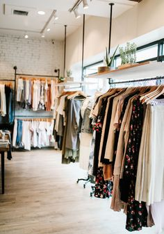 Soel boutique Hanging Clothing Racks How A Pendulum Works to Keep Time (Part Up until about the 1 Retail Clothing Racks, Clothing Store Interior, Clothing Store Design, Hanging Clothes Racks, Pipe Clothes Rack, Hanging Racks, Retail Store Design, Retail Interior, Decoration