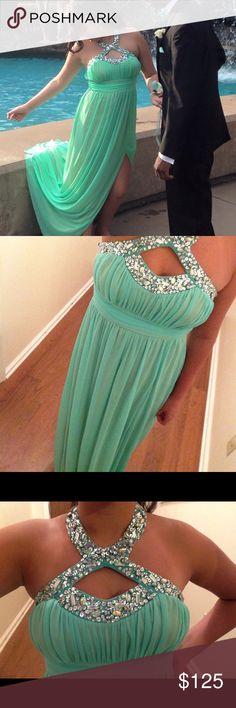 Prom dress Teal prom dress Dresses Prom