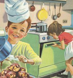 Livres enfants & Jeunesse, Martine à la maison est une création orginale de Chezzezette sur DaWanda