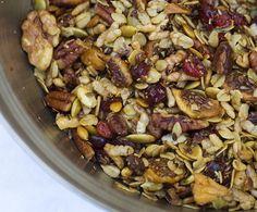 mm - homemade granola recipe!