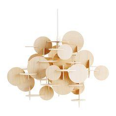 Small Bau Pendant Lamp - Ntrl | Normann Copenhagen