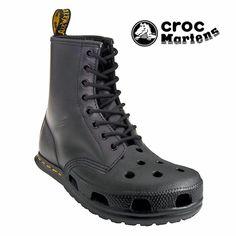 Croc Martens Had Better Not Be Real - NOOOOOOOOOOOOOOOOOO!!!!!!!!!!!!!!!!!!
