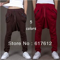 Men Women Unisex Harem Baggy Sweat Pants Athletic sport Casual Tapered Sport Hip Hops Dance Trousers Slacks Joggers SweatPants