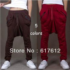 Men Women Unisex Harem Baggy Sweat Pants Athletic sport Casual Tapered Sport Hip Hops Dance Trousers Slacks Joggers SweatPants