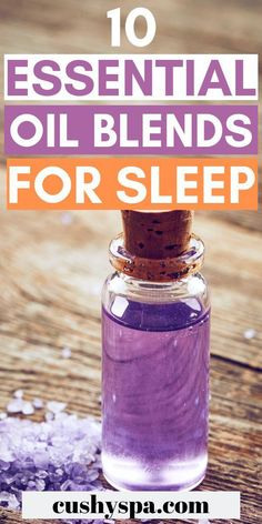 10 Essential Oil Blends for Sleep and Relaxation Struggling to fall asleep? Need a few sleep remedies? Try these essential oil blends for sleep and improve sleep quality. Essential Oils For Sleep, Best Essential Oils, Essential Oil Uses, Essential Oil Diffuser, Aromatherapy Recipes, Aromatherapy Oils, Easential Oils, Stem Challenge, Sleep Remedies