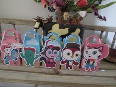 Sheriff Callie and Friends Inspired Gable Favor Boxes by zbrown5, $12.00