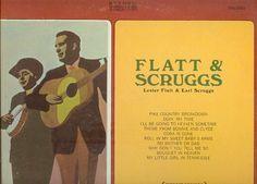 "Flatt & Scruggs LP ""Lester Flatt & Earl Scruggs"""