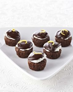 Ghirardelli® Lemon Kissed Brownie Bites I am going to make some of these!