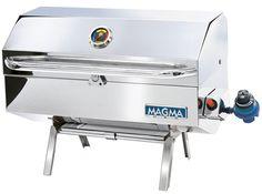 Magma Newport Gourmet Series Gas Grill - Infrared - https://www.boatpartsforless.com/shop/magma-newport-gourmet-series-gas-grill-infrared/