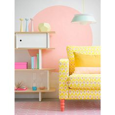 Modern Pastel Style ❤ liked on Polyvore featuring backgrounds and interiors