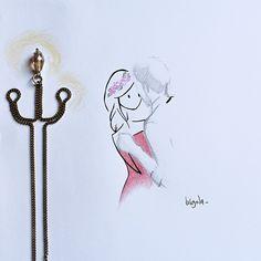 Virgola by Virginia Di Giorgio Ma illudimi che sia per sempre  #virginiasdraws