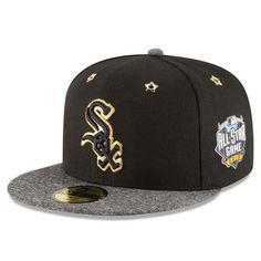buy popular 358d1 d22b2 Men s Chicago White Sox New Era Black Heathered Gray 2016 MLB All-Star Game  Patch 59FIFTY Fitted Hat
