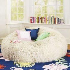 pb teen furniture   Pottery Barn Teen Bean Bag Chairs   Interior Design For The Bedroom  LOVEEEE SOOO FLUFFFYYYY :):):)<3:):):)