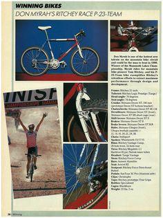 Myrah's 1990 race bike at xxc.cult:ure