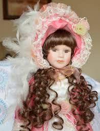 Resultado de imagem para bonecas de porcelana