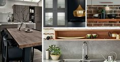 Explore beautiful kitchens at Howdens. The latest variety of styles and colours available. Shaker Style Cabinets, Shaker Style Doors, Shaker Style Kitchens, Bright Kitchens, Grey Kitchen Cabinets, Kitchen Cabinet Doors, Grey Kitchens, Blue Cabinets, Barn Kitchen