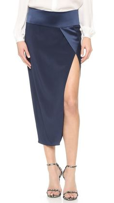 Mason by Michelle Mason Obi Wrap Skirt