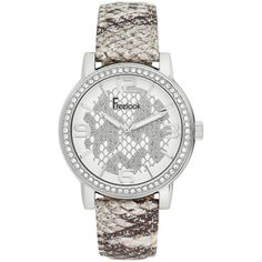Ceasuri Dama :: CEAS FREELOOK F.1.1008.03 - Freelook Watches Watches, Skeleton, Swarovski, Silver, Accessories, Crystal, Wristwatches, Clocks, Skeletons