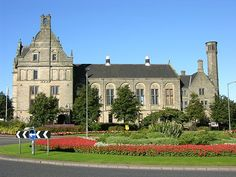 Alloa, Clackmannanshire, Scotland - birthplace of my paternal grandfather. Would love to see it one day.