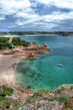 """Beauport Bay, Jersey"" by Bradley Shawn Rabon ~ the Channel Islands, UK"
