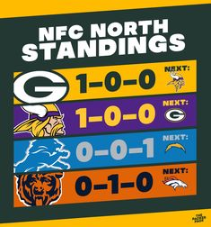 Nfc North, Green Bay Packers, Calm