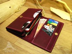 70cd3d937aa5 Купить или заказать Женский кошелек из натуральной кожи