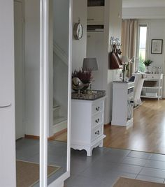 Make your hallway part of your home by matching its furniture with the living room | Jonna-Janette's house, Finland | live from IKEA FAMILY