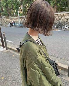 color tip nails Short Wavy Hair, Short Hair Styles, Love Hair, My Hair, Shauna Macdonald, One Length Bobs, Hair Setting, Asian Hair, Girl Fashion