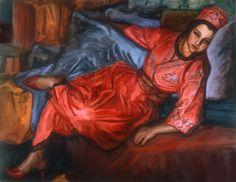 Marie Hadad, Beirut, Lebanon (1889-1973). Portrait.