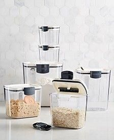 Martha Stewart Collection Bakery Set, Created for Macy's - Kitchen Gadgets - Kitchen - Macy's Small Kitchen Storage, Pantry Storage, Kitchen Organization, Kitchen Organizers, Kitchen Shelves, Martha Stewart, New Kitchen, Kitchen Decor, Kitchen Design