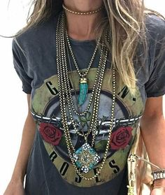 UK seller Boho Style Bohemian Gold Plated Layered Tassle Long Chain Necklace