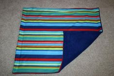 """Fleece blanket tutorial w/ sewing machine. I have made several of these using this tutorial and I love them all! So easy and fun and it looks store bought."""""""