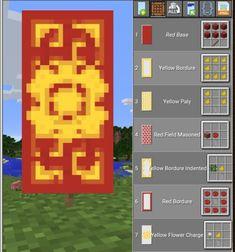 Minecraft Banner- Chinese - New Sites Minecraft Banner Patterns, Cool Minecraft Banners, Minecraft Shops, Minecraft Plans, Minecraft Survival, Minecraft Decorations, Minecraft Tutorial, Minecraft Blueprints, Minecraft Art