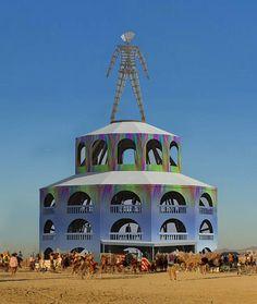 Burning Man | Black Rock City, Nevada (Pavilion design by Rod Garrett and Andrew Johnstone)