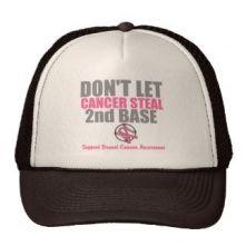 Dont Let Cancer Steal Second Base Trucker Hat Popular Colors, Hot Pink, Cancer, Hats, Blue, Stuff To Buy, Assessment, Presentation, Google Search