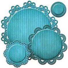 Spellbinders NestaLea'bilities Decorative Elements Dies Circle Delight