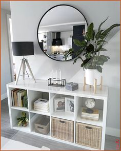 22 smart first apartment decorating ideas on a budget 00004 - Modern Home Living Room, Living Room Designs, Small Apartment Living, Modern Apartment Decor, Apartment Layout, Living Room Decor Hacks, Ikea Living Room Storage, Dresser In Living Room, Ikea Living Room Furniture