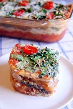Spaghetti Squash Lasagna #vegetarian #gluten free | Uproot from Oregon